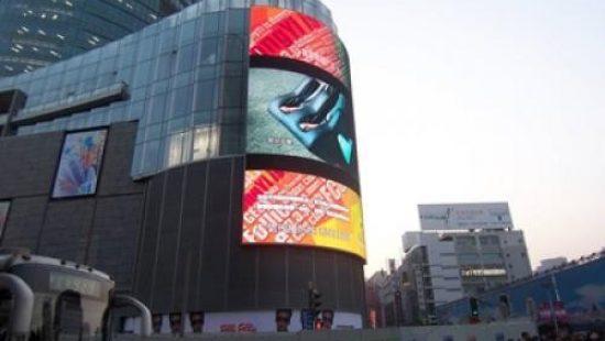 Экраны для демонстрации рекламных видеороликов