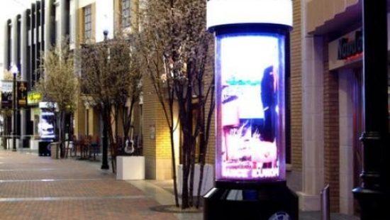Светодиодные тумбы уличного исполнения
