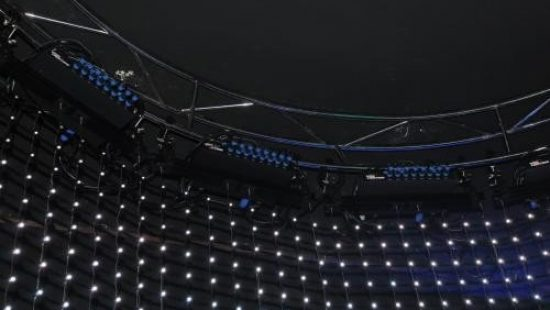 Светодиодные гибкие сетки