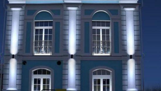 Архитектурная подсветка зданий