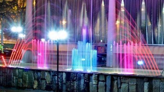 Подсветка для фонтана