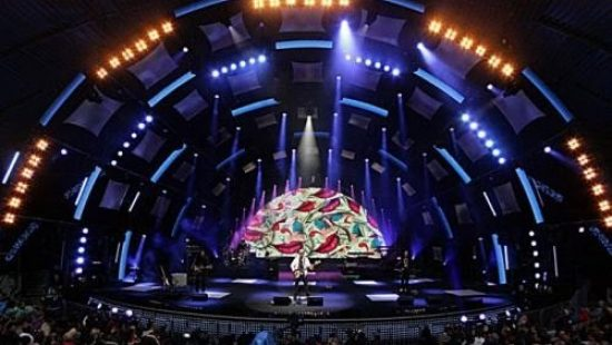 Инсталляция шоу-программ, концертов внутри помещений